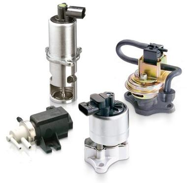 Komponenten der Abgasrückführung; AGR-Ventile, AGR-Kühler