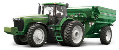 Dual clutch on tractors