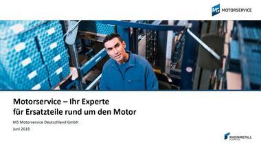 Unternehmensbroschüre Motorservice