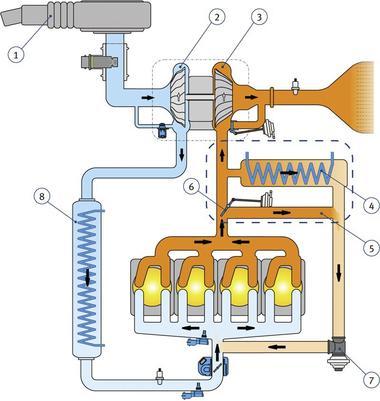 AGR System schematisch