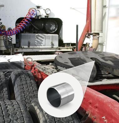 Palier de sellette d'attelage avec des bagues de coussinet KS PERMAGLIDE® P10