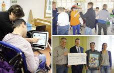 Besuch mit Spendenübergabe in der Diakonie Stetten