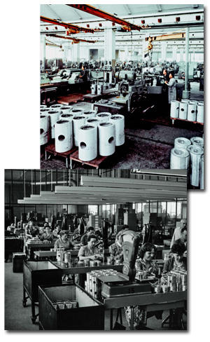 Historical piston production