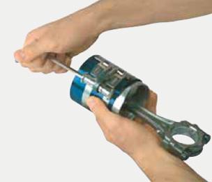 Kolbenringspannband Kolbenschmidt PKW Kolbenringe Spannband  50 009 816 KS