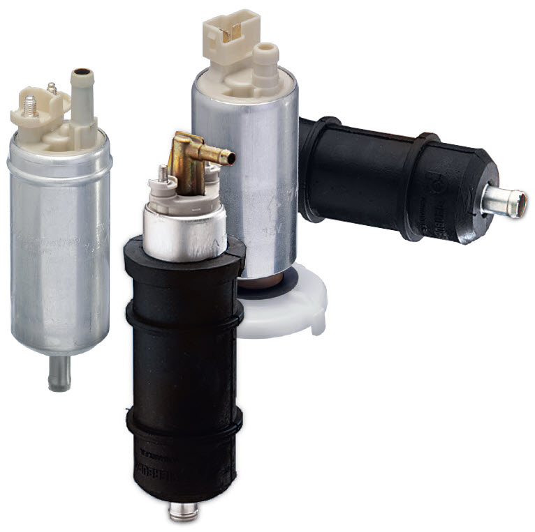 Bombas de combustible eléctricas para aplicación universal