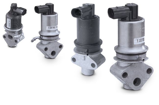 Electric egr valves