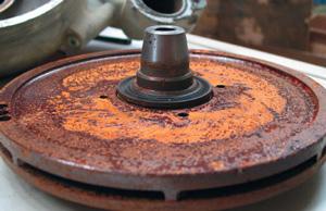 Pompe dell'acqua non a tenuta a causa del refrigerante non adatto