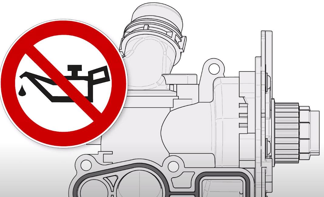 Bruchgefahr: Wasserpumpen von