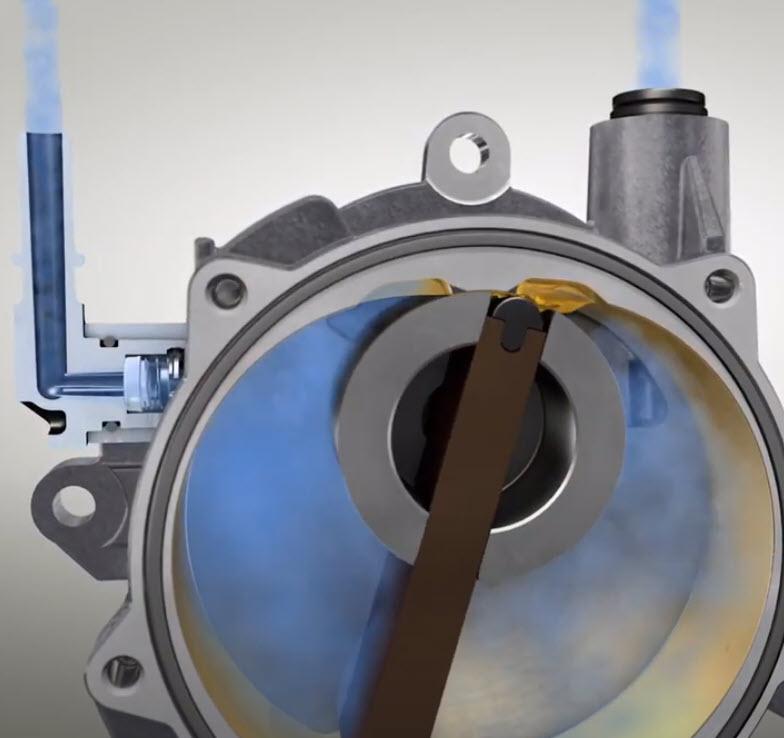Come funziona una pompa per vuoto? (animazione 3D)