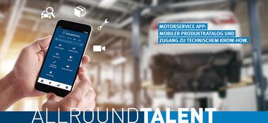 Rheinmetall Automotive - Motorservice App